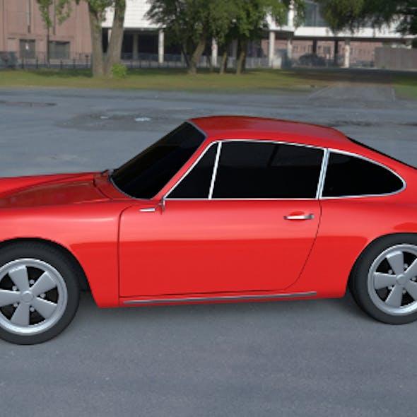 1965 Porsche 911 HDRI