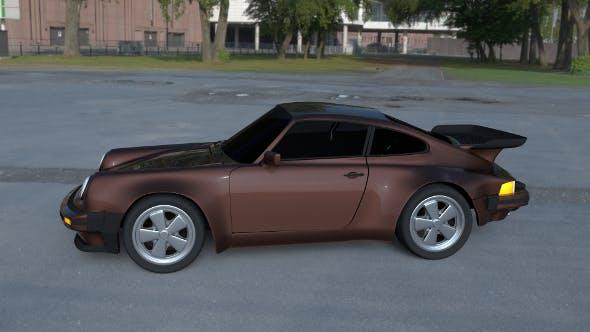 Porsche 911 930 HDRI - 3DOcean Item for Sale