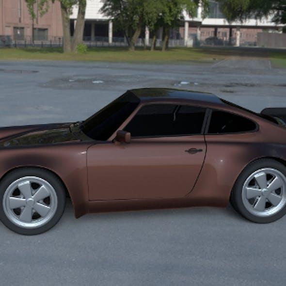 Porsche 911 930 HDRI