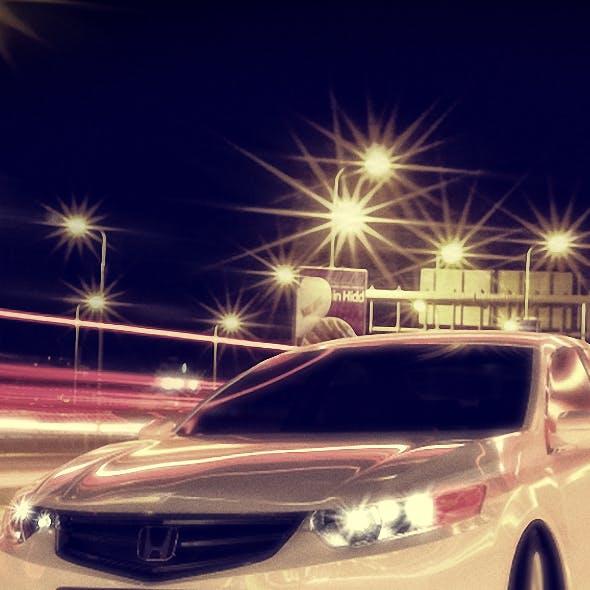 Car Model - Honda Accord - 3D model