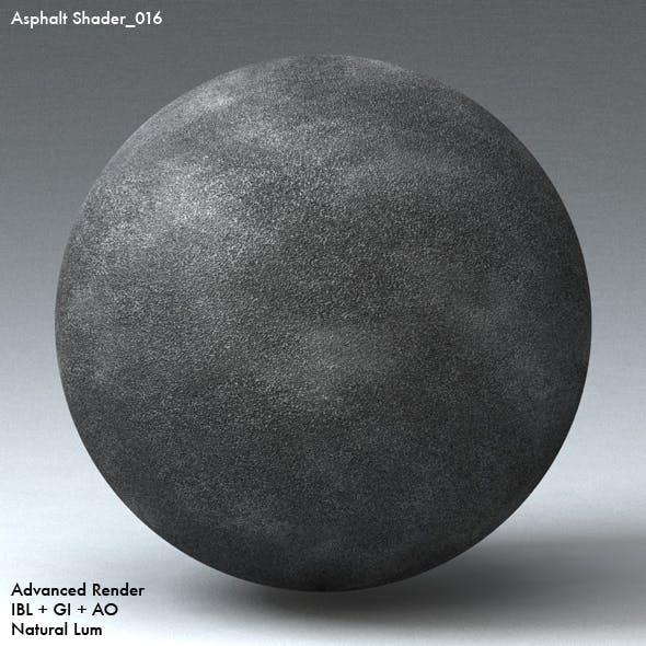 Asphalt Shader_016 - 3DOcean Item for Sale