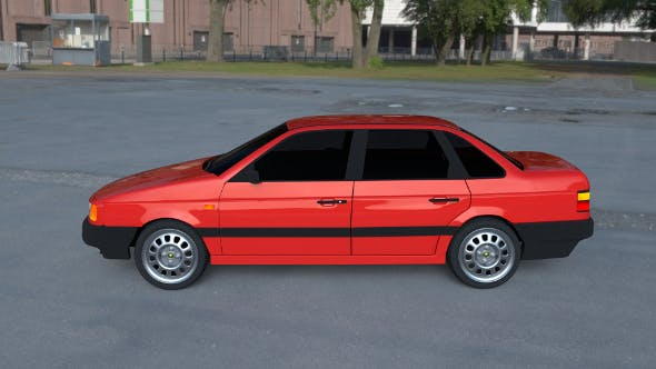 Volkswagen Passat B3 HDRI - 3DOcean Item for Sale