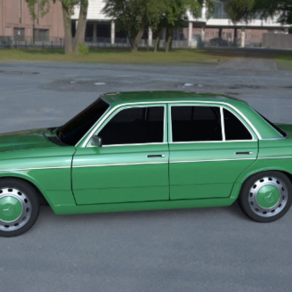 Mercedes-Benz W123 HDRI