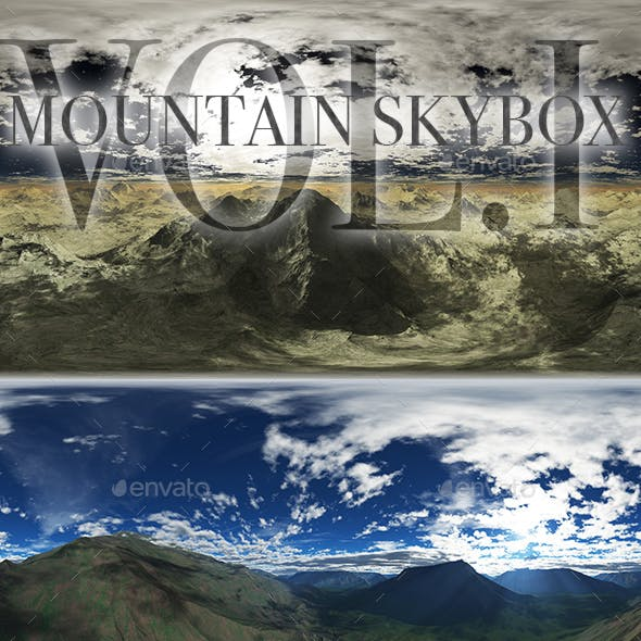 Mountains Skybox Pack Vol.I