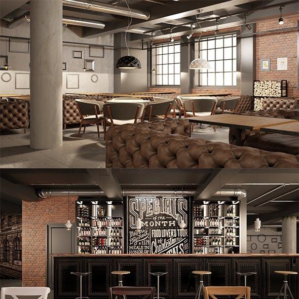Big Restaurant Loft Project