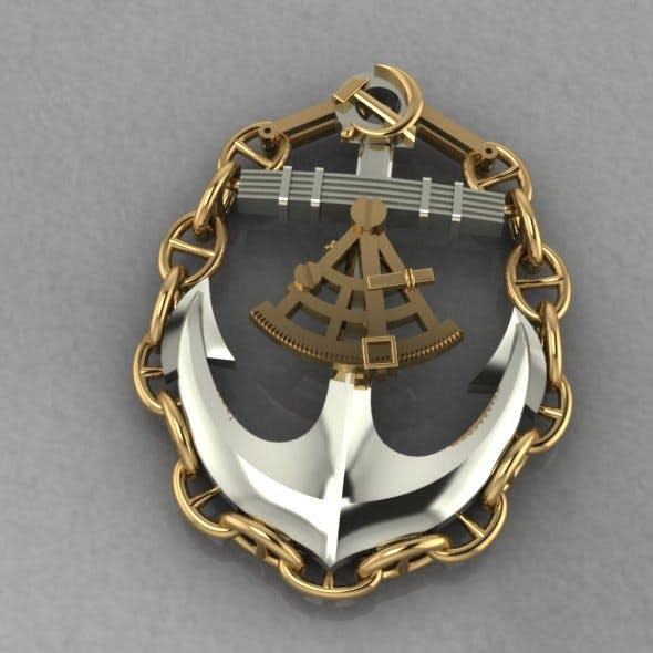 Anchor - 3DOcean Item for Sale