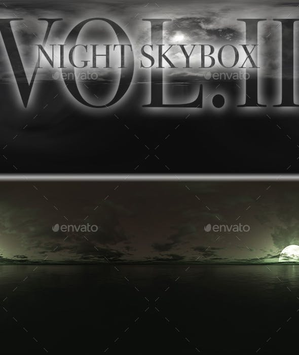 Night Skybox Pack Vol.II - 3DOcean Item for Sale