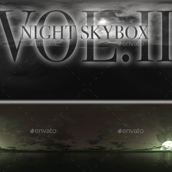 Night Skybox Pack Vol.II
