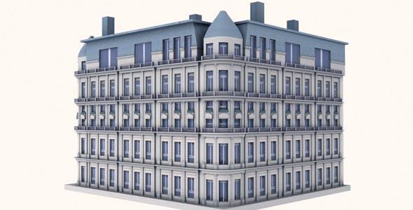 Western Building Model - 3DOcean Item for Sale