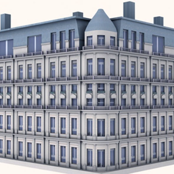 Western Building Model