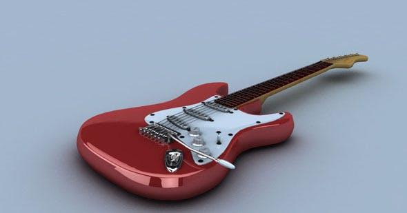 Electric Guitar - 3DOcean Item for Sale
