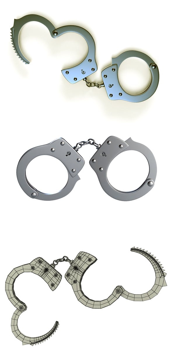 Handcuff - 3DOcean Item for Sale