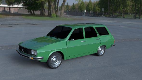 Renault 12 / Dacia 1300 Estate HDRI - 3DOcean Item for Sale