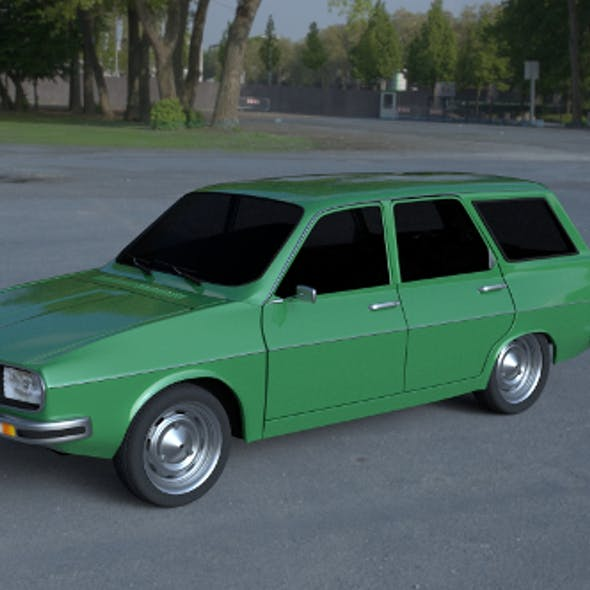 Renault 12 / Dacia 1300 Estate HDRI