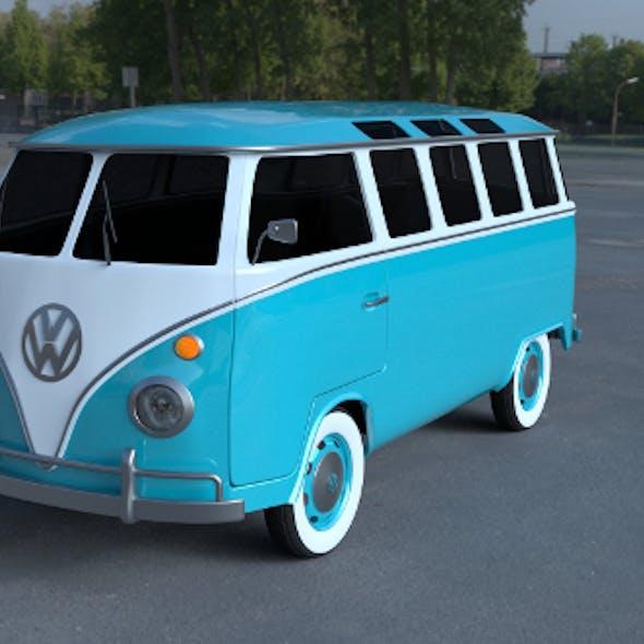 VW Bus Mk 1 HDRI