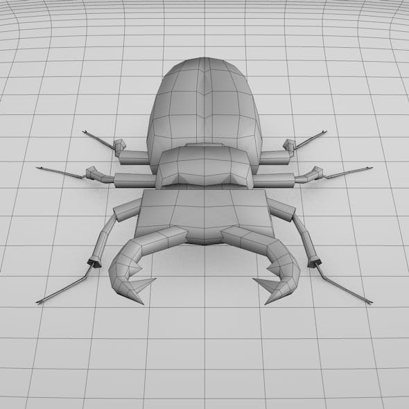 Beetle Bug Base Mesh