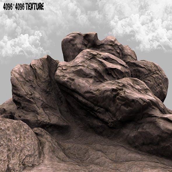rock  03 - 3DOcean Item for Sale