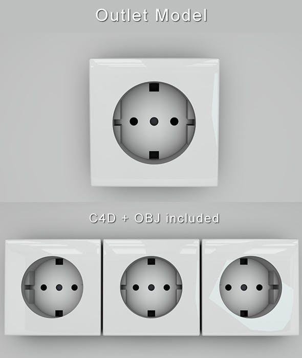 Modern Outlet - 3DOcean Item for Sale