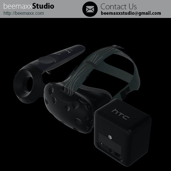 E3D - HTC Vive PRE Collection Headset + Controller + Lighthouse