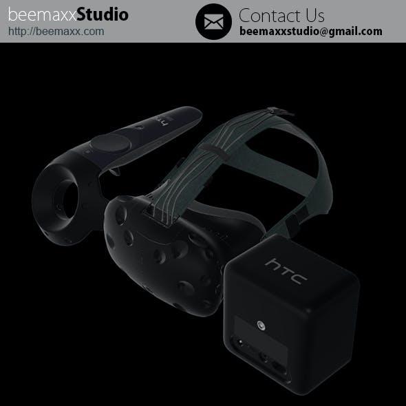 E3D - HTC Vive PRE Collection Headset + Controller + Lighthouse