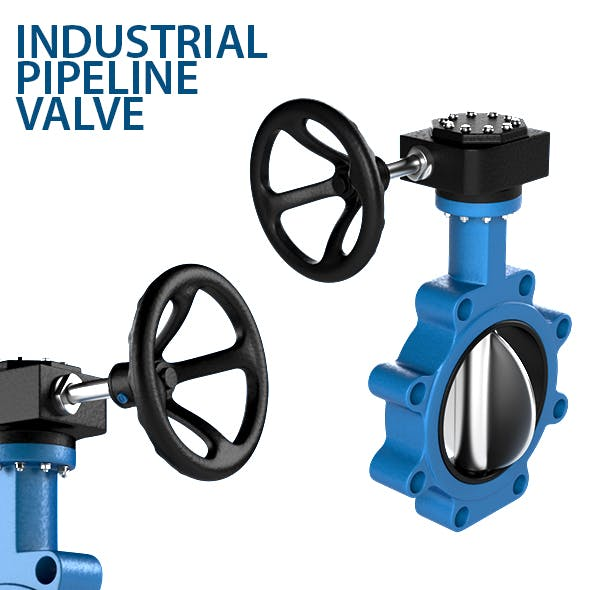 Industrial Pipeline Valve