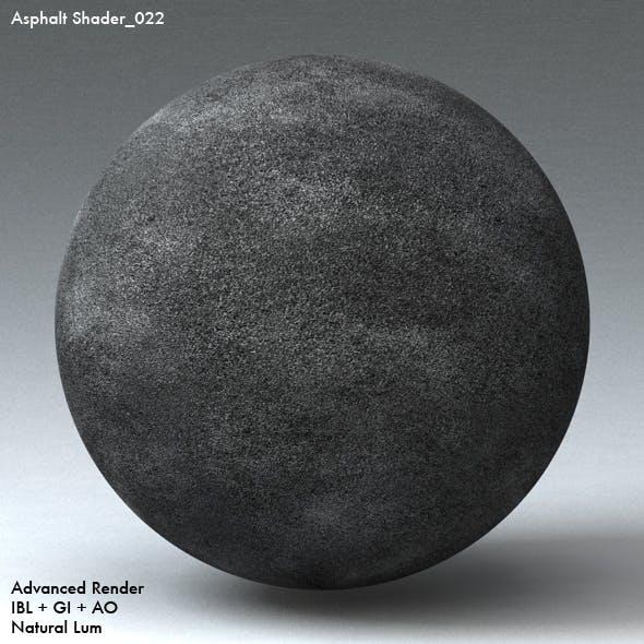 Asphalt Shader_022 - 3DOcean Item for Sale