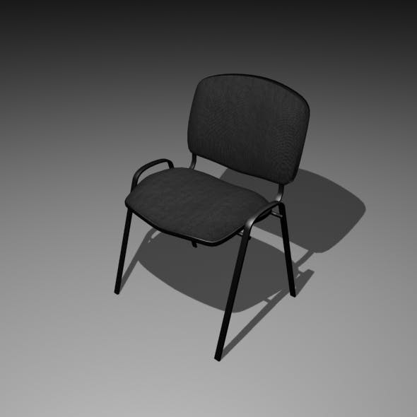 Simple Office Chair - 3DOcean Item for Sale