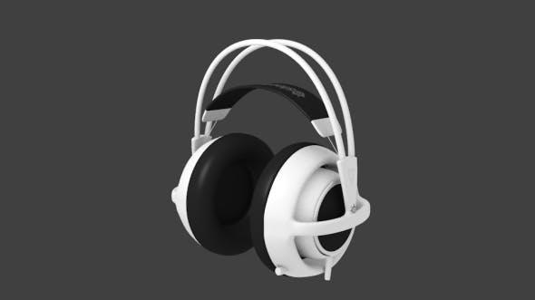 Gaming Headphone Steelseries Siberia V2 - 3DOcean Item for Sale