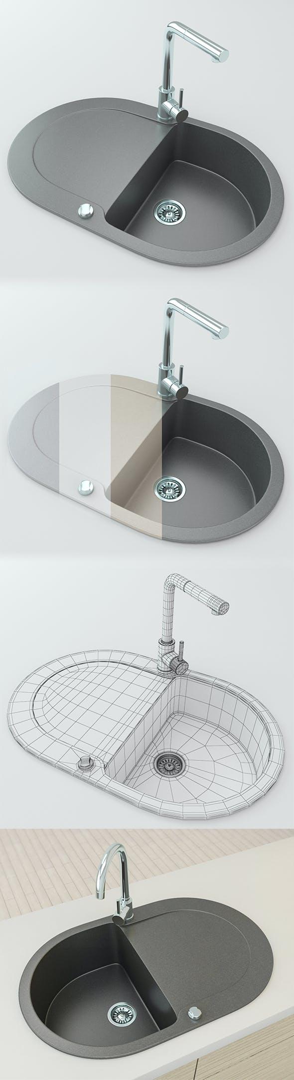 Kitchen Sink - 3DOcean Item for Sale