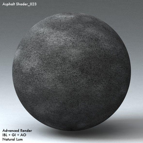 Asphalt Shader_023 - 3DOcean Item for Sale