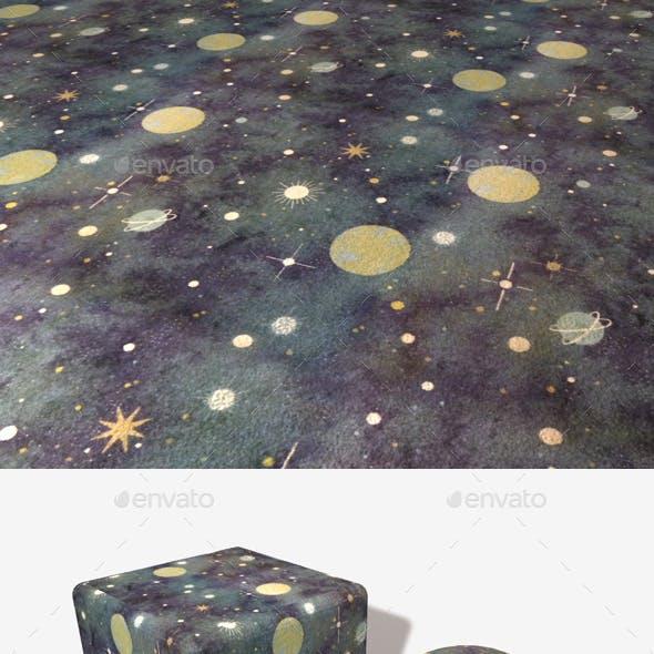 Galaxy Carpet Seamless Texture