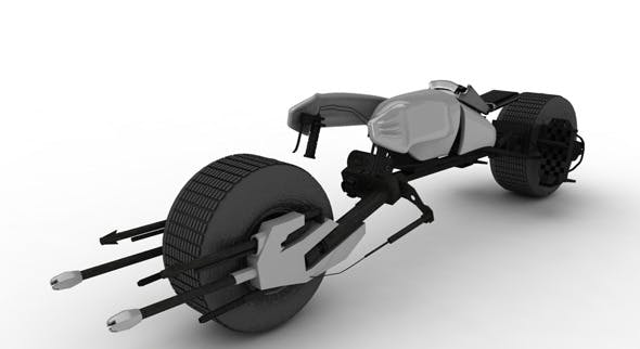 Batpod Bike - 3DOcean Item for Sale