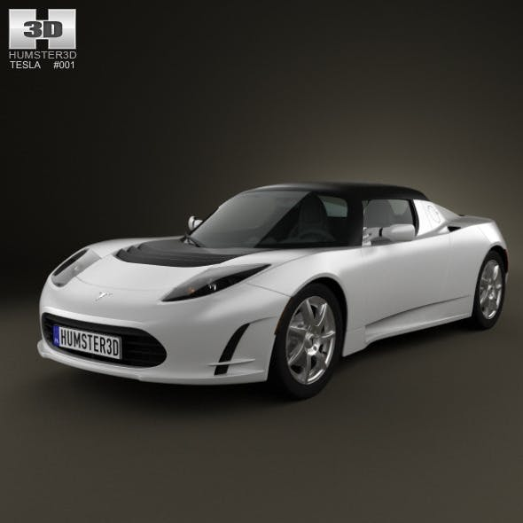 Tesla Roadster 2011 - 3DOcean Item for Sale