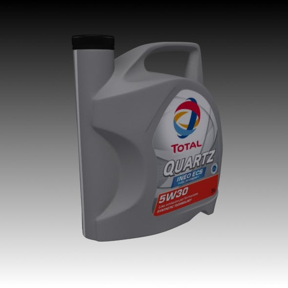 Motor oil engine bottle