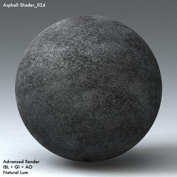 Asphalt Shader_024 - 3DOcean Item for Sale