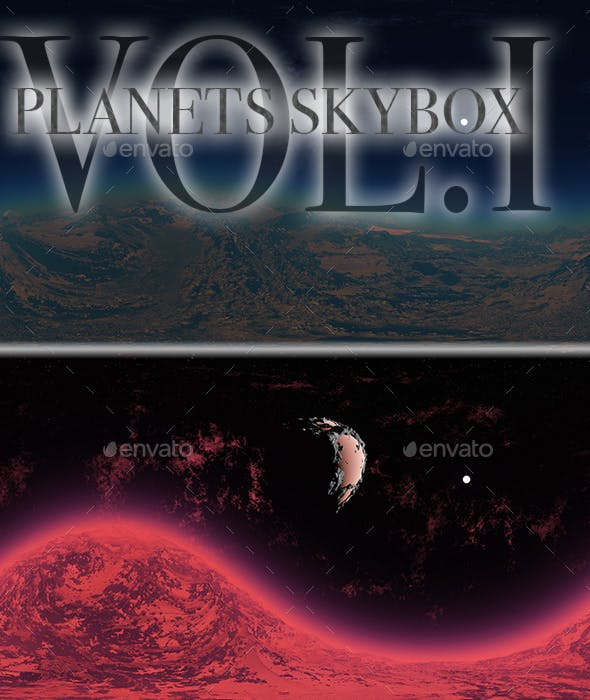 Planets Skybox Pack Vol.I - 3DOcean Item for Sale