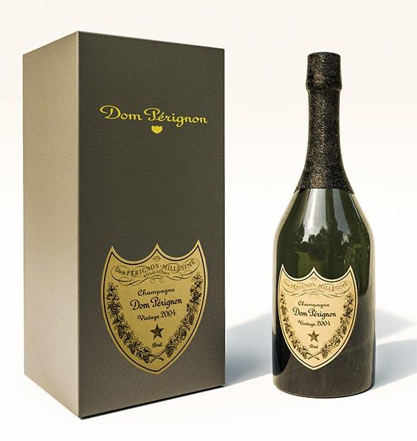 Dom Perignon Vintage Champagne - 3DOcean Item for Sale