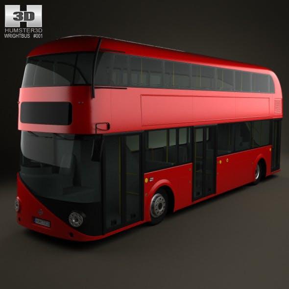 Wrightbus Borismaster 2012 - 3DOcean Item for Sale