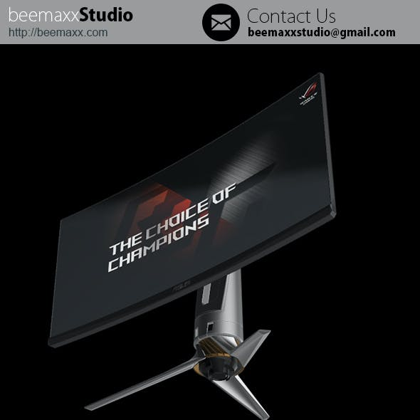 E3D - Asus ROG Swift PG348Q 4K Monitor Gaming Desktop