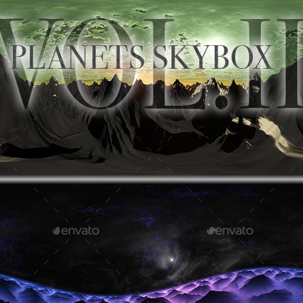Planets Skybox Pack Vol.II