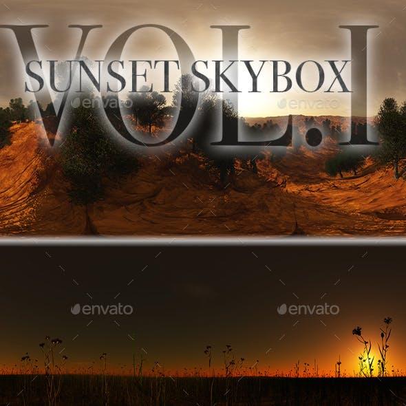 Sunset Skybox Pack Vol.I
