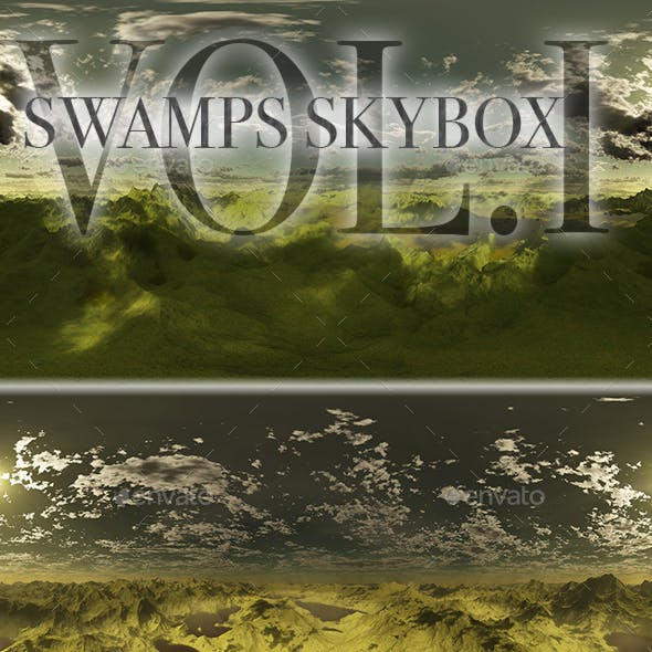 Swamps Skybox Pack Vol.I