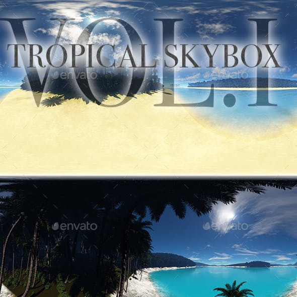 Tropical Skybox Pack Vol.I