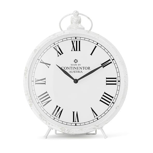 White Clock - 3DOcean Item for Sale