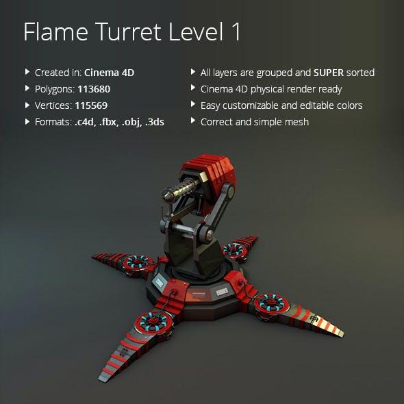 Flame Turret lvl 01