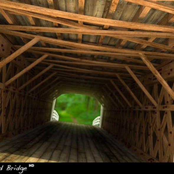 Holliwell Covered Bridge HD