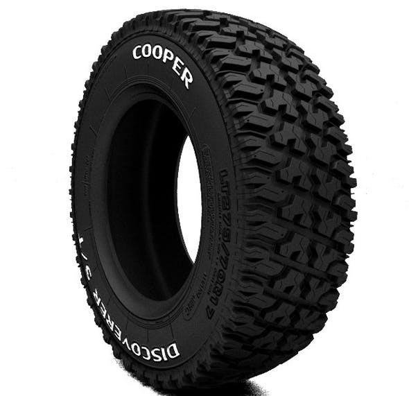 LT tire Cooper Discoverer S-T - 3DOcean Item for Sale