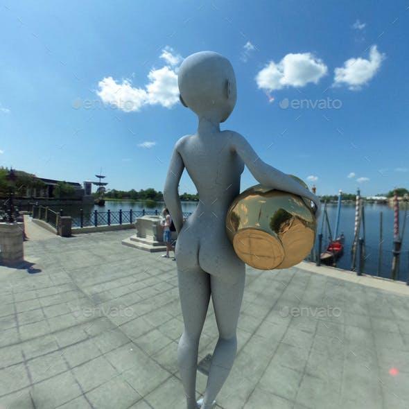 Sunny Italian Lakeside HDRI
