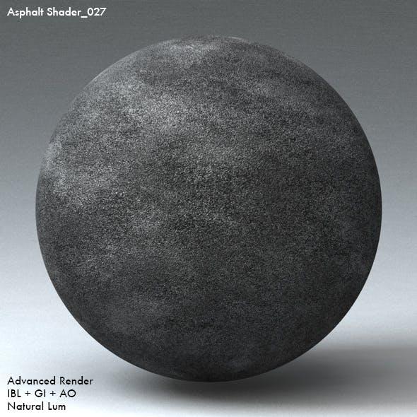 Asphalt Shader_027 - 3DOcean Item for Sale