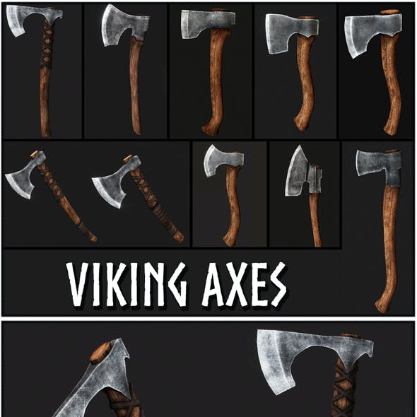Viking Axes Collection